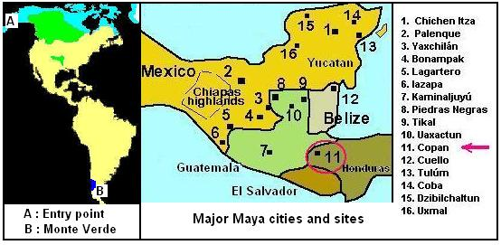 maya cities and pyramids Mayan Cities Map on the map below right we see the names and locations of the major maya cities and sites mayan cities map